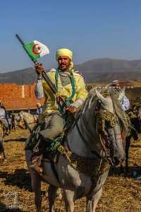 Valeureux Cavalier à la Waada des Traras à Dar Yaghmoracen (Tlemcen)