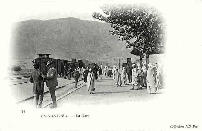 La gare- El KANTARA- Biskra