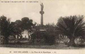 La place de la république- Sidi Bel Abbès