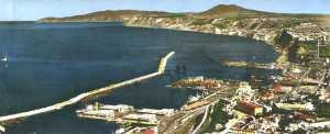 Le port et la montagne- Oran