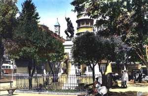 Statue du général lamoricière-Tiaret