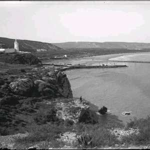 Photo rare de l'ancien phare de Port Say