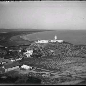 Photo rare de l'ancien phare de Port Say disparu
