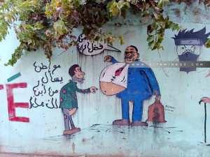 Caricatures et Hirak en Algérie