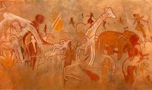 رسومات كهوف جابارن و تاماريت في إليزي 21
