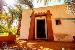Guentour : maison récente respectant l'architecture et les techniques anciennes de construction en Toub