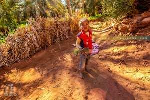 Un petit ange de l'oasis de Guentour