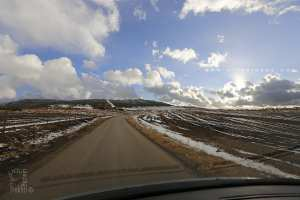 Les hauteurs de Tlemcen, la neige est de retour