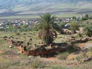 Vestiges romains de la source thermale des Beni Guecha