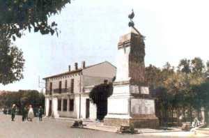Sétif- Monuments aux morts et la poste