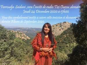 Artiste et Chanteuse Ferroudja Saidani
