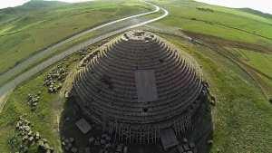 Batna- Le mausolée numide de Medghassen