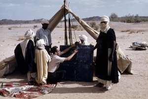 L'école nomade à Tamanrasset