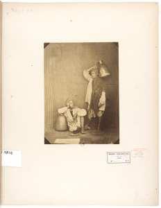 Biskris porteurs d' eau, Alger;
