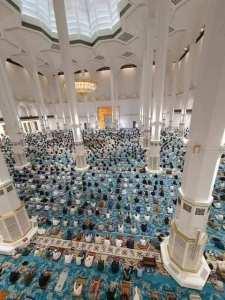 صلاة الجمعة في ثالث اكبر مسجد الجامع الكبير في الجزائر