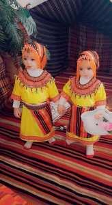 بنتين من مدينة سوق اهراس بالزي التقليدي القبائلي