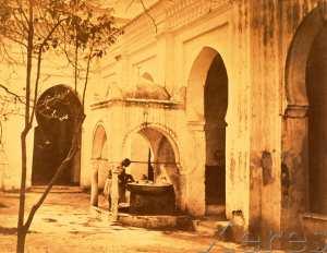 Fontaine des ablutions, Cour de la Grande Mosquée, Alger