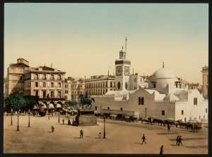 Alger- La place du Gouvernement