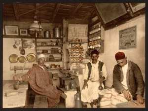 Alger- Café maure