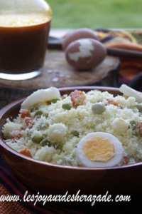 المطبخ الجزائري : كسكس قبائلي