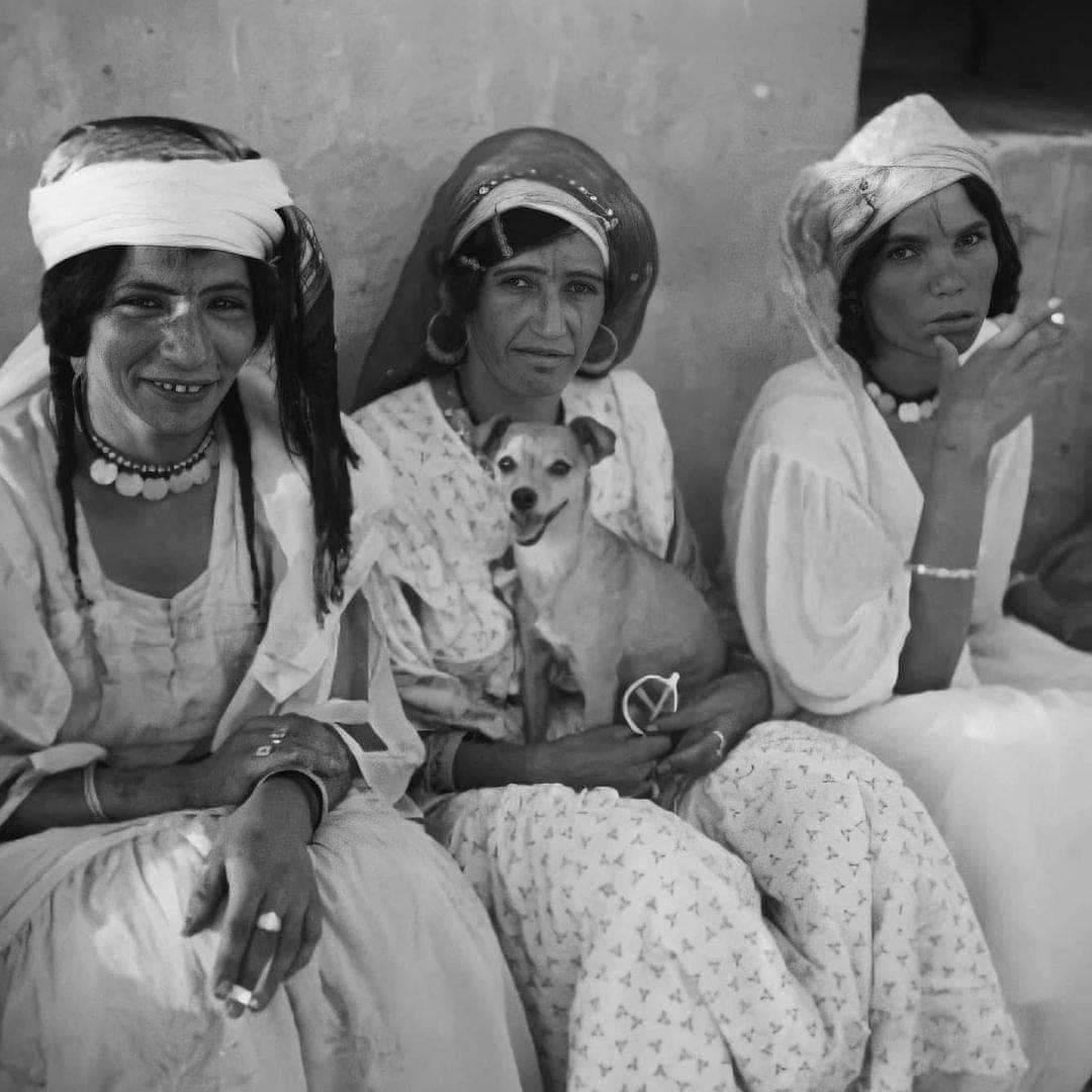 نساء جزائريات من ادرار سنة 1945