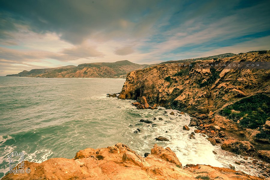 La plage Malous mitoyenne d'El Ouardaniya