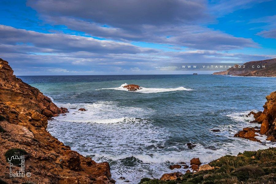 Le Rocher, au large de la plage de Malous