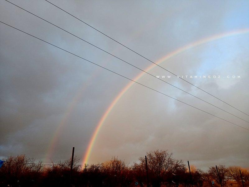 Magnifique arc en ciel : comment il se forme?