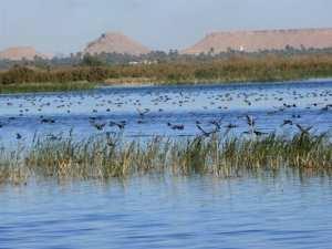 El-Menea:la zone humide du lac Sebkhat El-Maleh