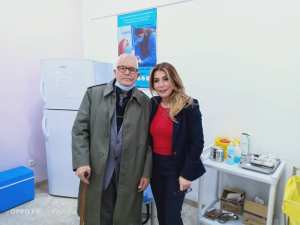 Vaccination Anti Covid Salima Souakri ouvre le bal