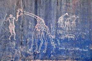 Djanet- Les peintures rupestres de Ajjer