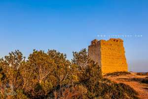 Tour ou Bordj de surveillance de la côte de Honaïne datant de l'époque almohade