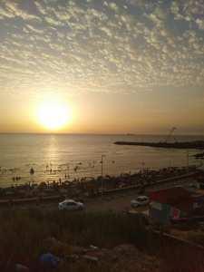 la plage Sidi Mejdoub- Mostaganem