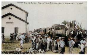 le premier train vers alger