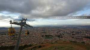 Téléphérique de Tlemcen, vue du plateau de Lalla Setti