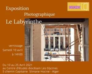 Labyrinthe de la solitude. Instantané de la cité Climat de France - Exposition photographique de Hamid Rahiche.