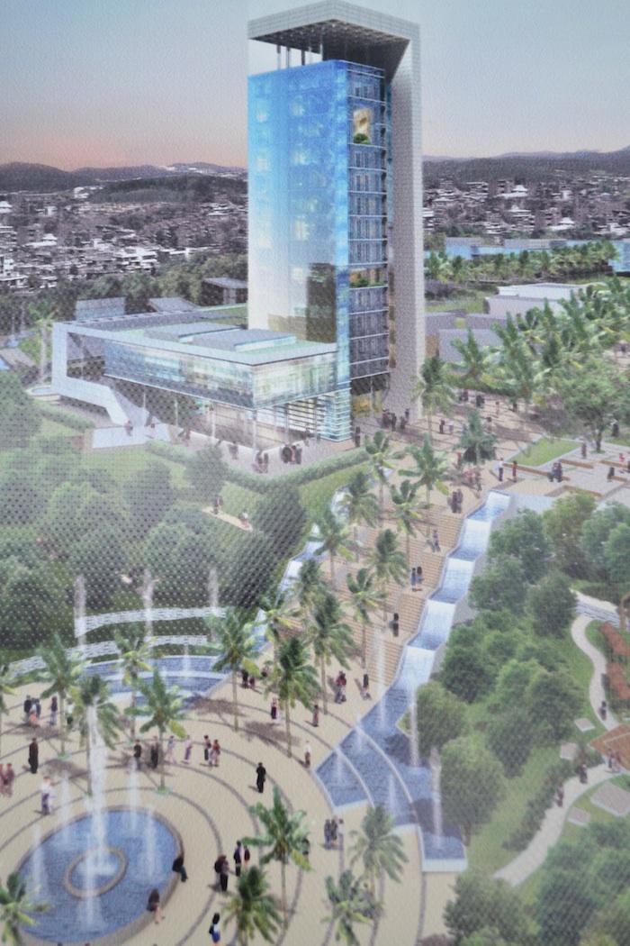 Alger 2030 : les projets qui transformeront la ville/ pole universitaire bouzereah