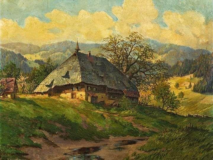 Tableau de Artiste Peintre Karl Hauptmann