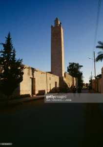 minaret de la mosquée de menia