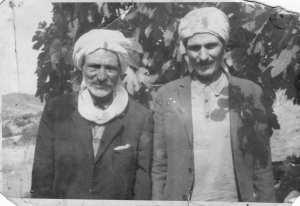 Les deux freres moudjahidines arrif à gauche med salah à droite med dit Benadji.