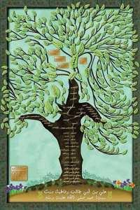 شجرة نسب أل الدباغ