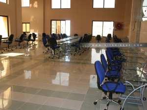 Salle informatique de la Bibliothèque Mohamed Did de Tlemcen