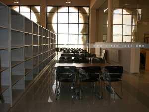Salle de lecture de la Bibliothèque Mohamed Did de Tlemcen