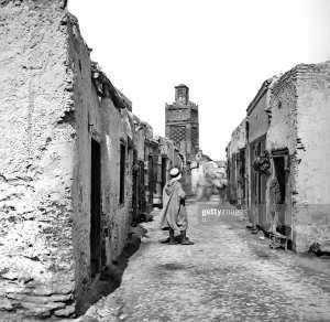 une rue de tlemcen photo prise en 1890