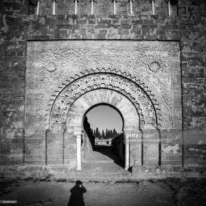 une des 13 portes de la mosquée de mansoura tlemcen