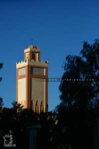 Minaret de la mosquée des chouhada à Bechar ville