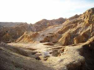 Le rocher de sel de Djelfa