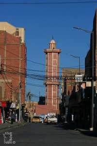 Rue El qods à Bechar et Masjid Abdellah Ibnou Amr