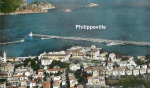 Philippeville - Vue sur le Port et la Baie de Stora