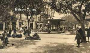 Place du marché-maison carrée -El harrach